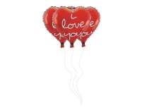 Baloane folie - I love you (51 cm)