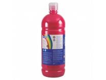 Tempera, rosu vermillon, 1000 ml