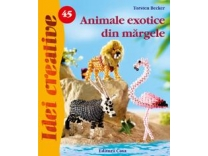 45 - Animale exotice din margele